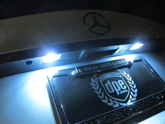 Mercedes - C300 - error - free - LED - bulbs - 3